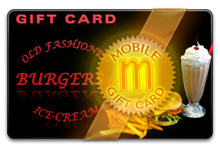 Old Fashioned Burgers & Ice-cream M-Gift Card
